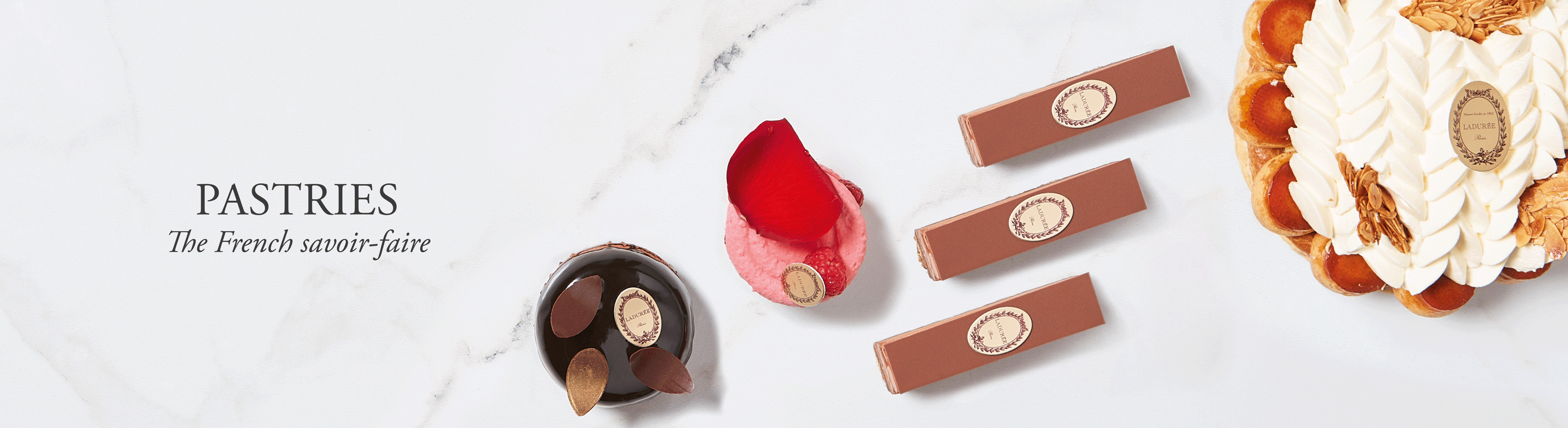 Pastries And Sweet Creations Of Maison Ladurée